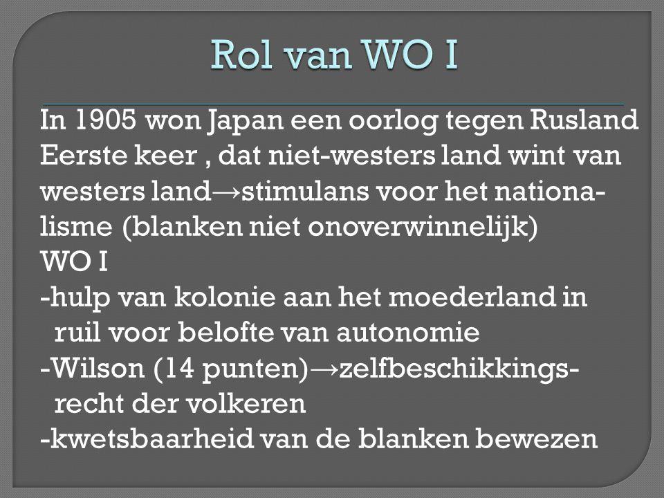 Rol van WO I