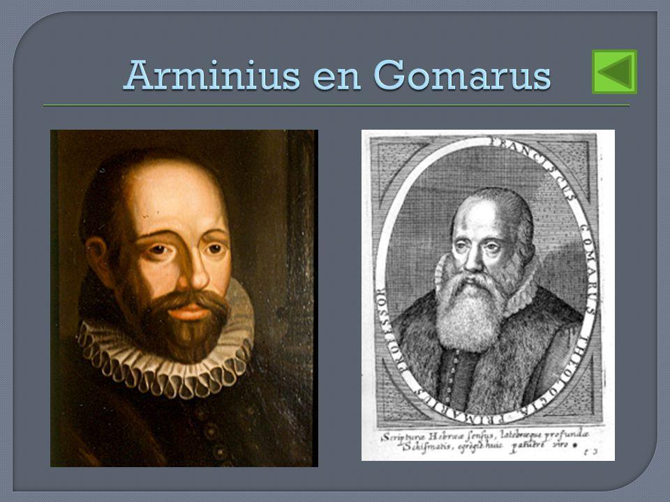Arminius en Gomarus