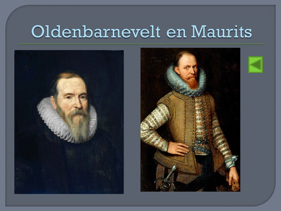 Oldenbarnevelt en Maurits