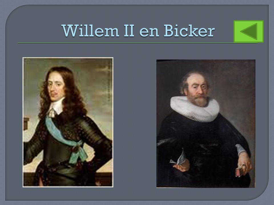 Willem II en Bicker