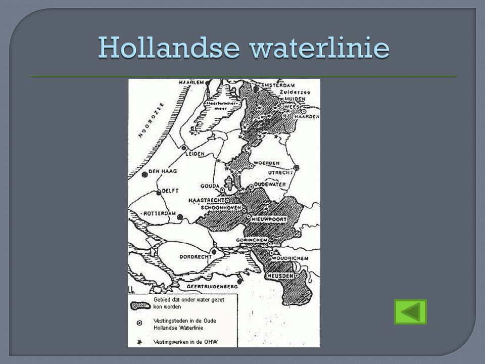 Hollandse waterlinie