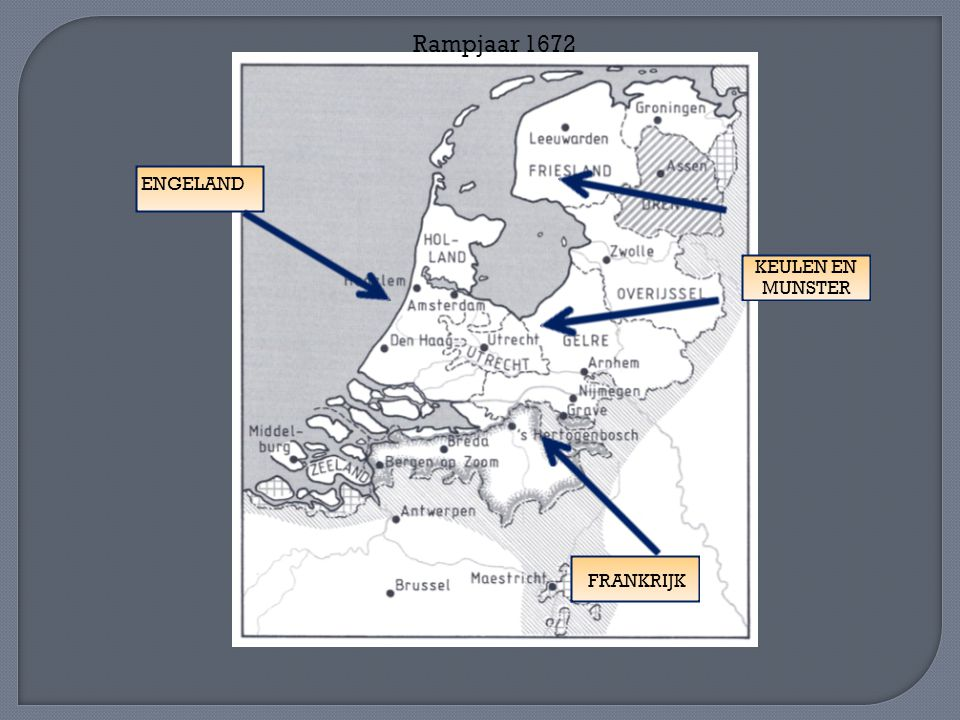 Rampjaar 1672 ENGELAND KEULEN EN MUNSTER FRANKRIJK