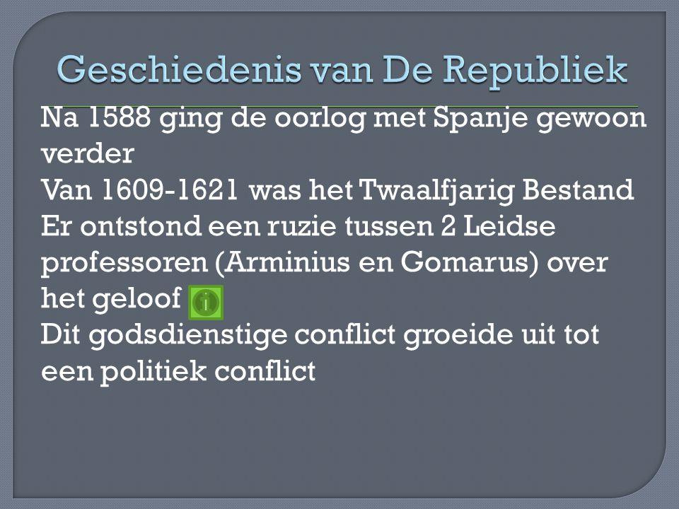 Geschiedenis van De Republiek