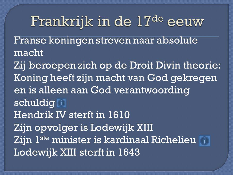 Frankrijk in de 17de eeuw