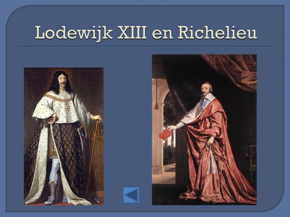 Lodewijk XIII en Richelieu