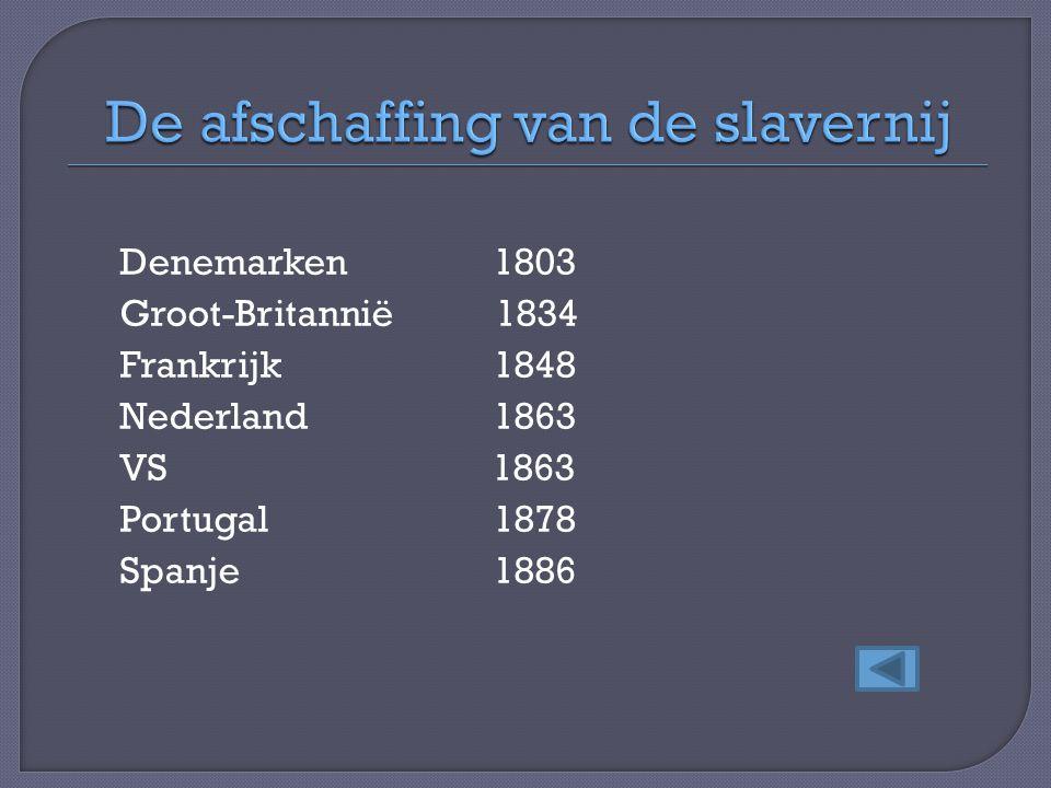 De afschaffing van de slavernij