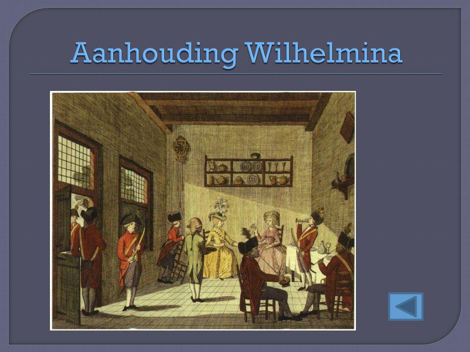 Aanhouding Wilhelmina