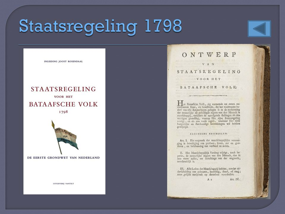 Staatsregeling 1798