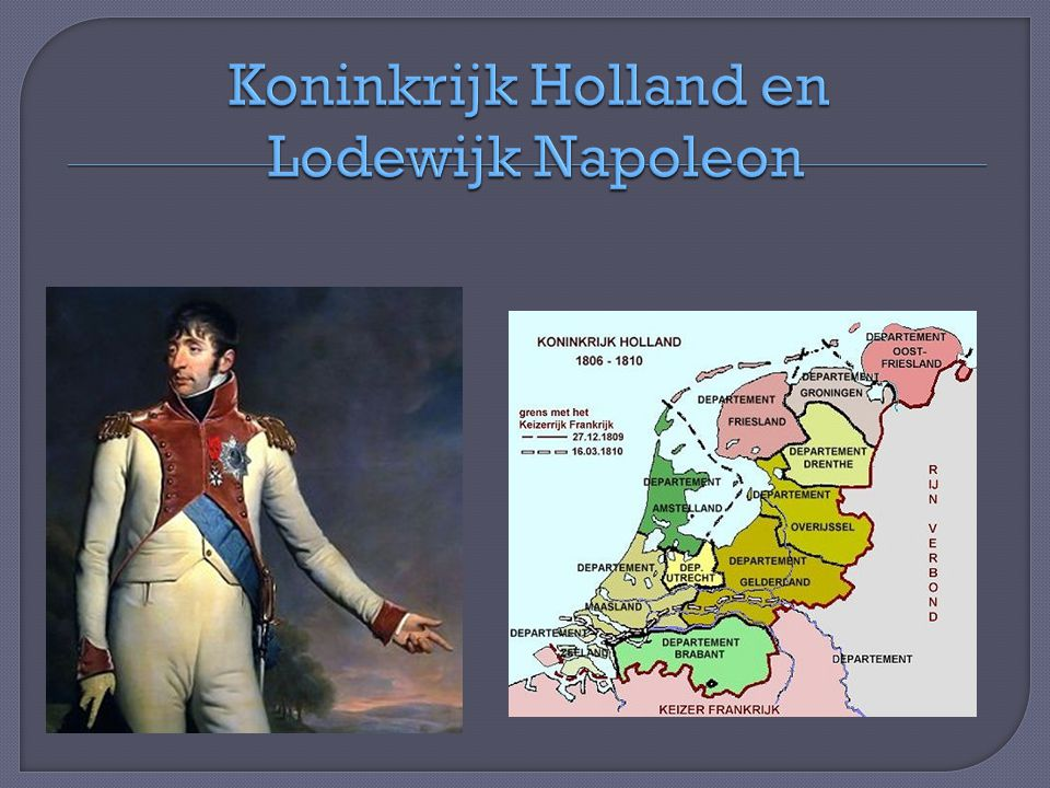 Koninkrijk Holland en Lodewijk Napoleon