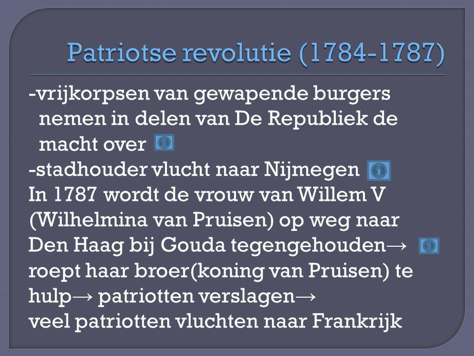 Patriotse revolutie (1784-1787)