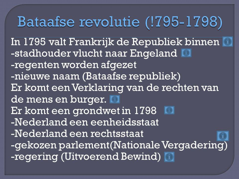Bataafse revolutie (!795-1798)