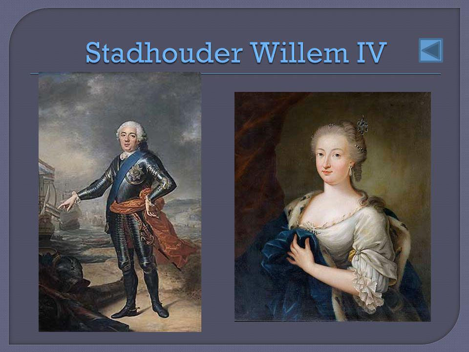 Stadhouder Willem IV