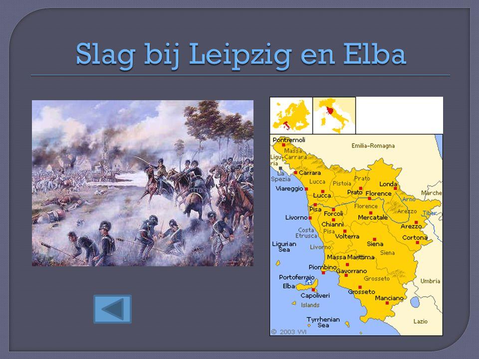Slag bij Leipzig en Elba