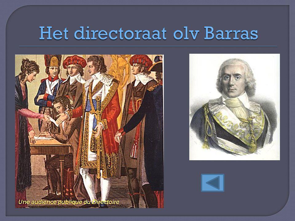 Het directoraat olv Barras