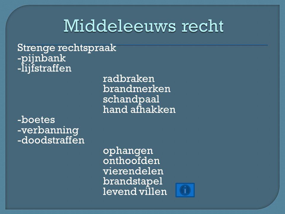 Middeleeuws recht