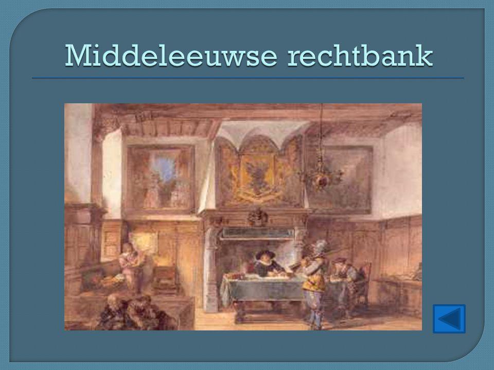 Middeleeuwse rechtbank