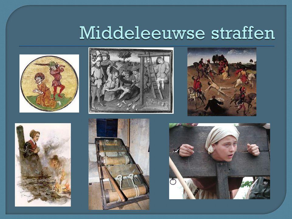 Middeleeuwse straffen