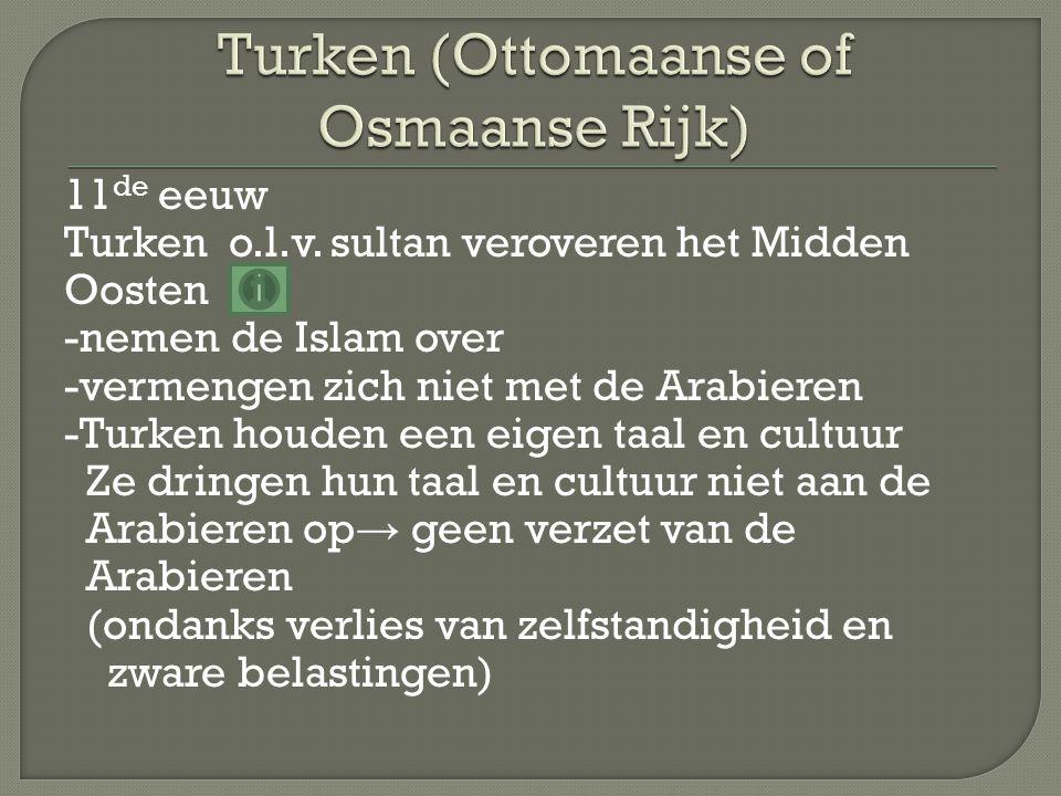 Turken (Ottomaanse of Osmaanse Rijk)