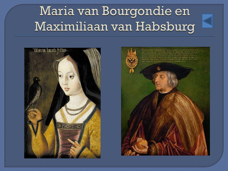 Maria van Bourgondie en Maximiliaan van Habsburg