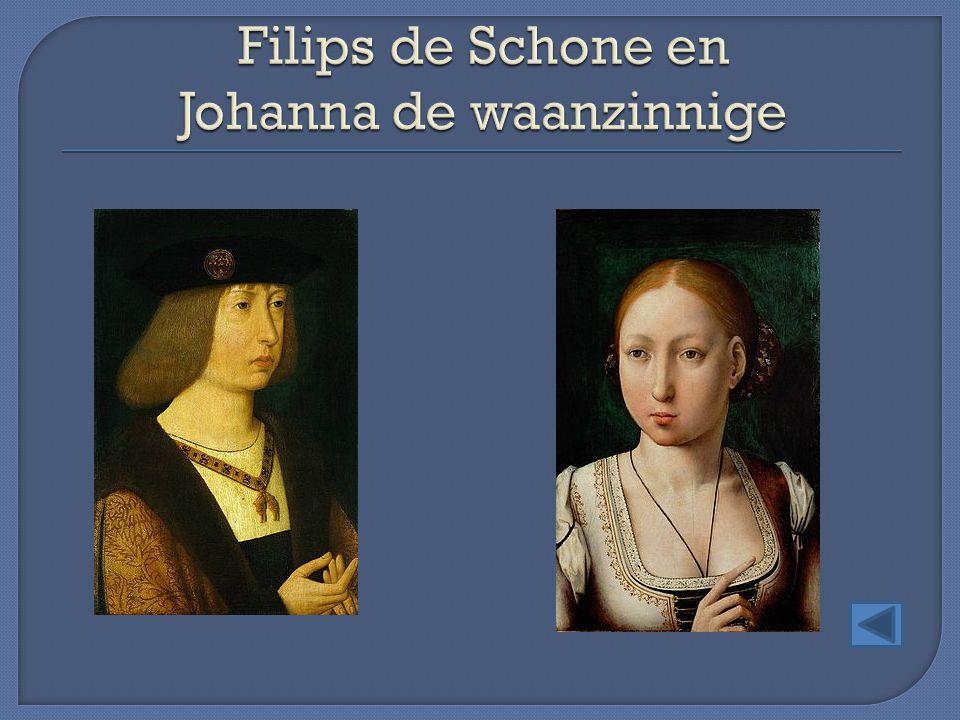 Filips de Schone en Johanna de waanzinnige