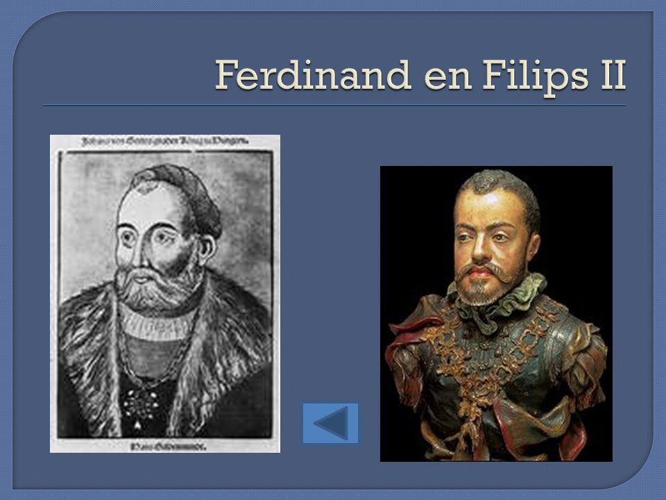 Ferdinand en Filips II