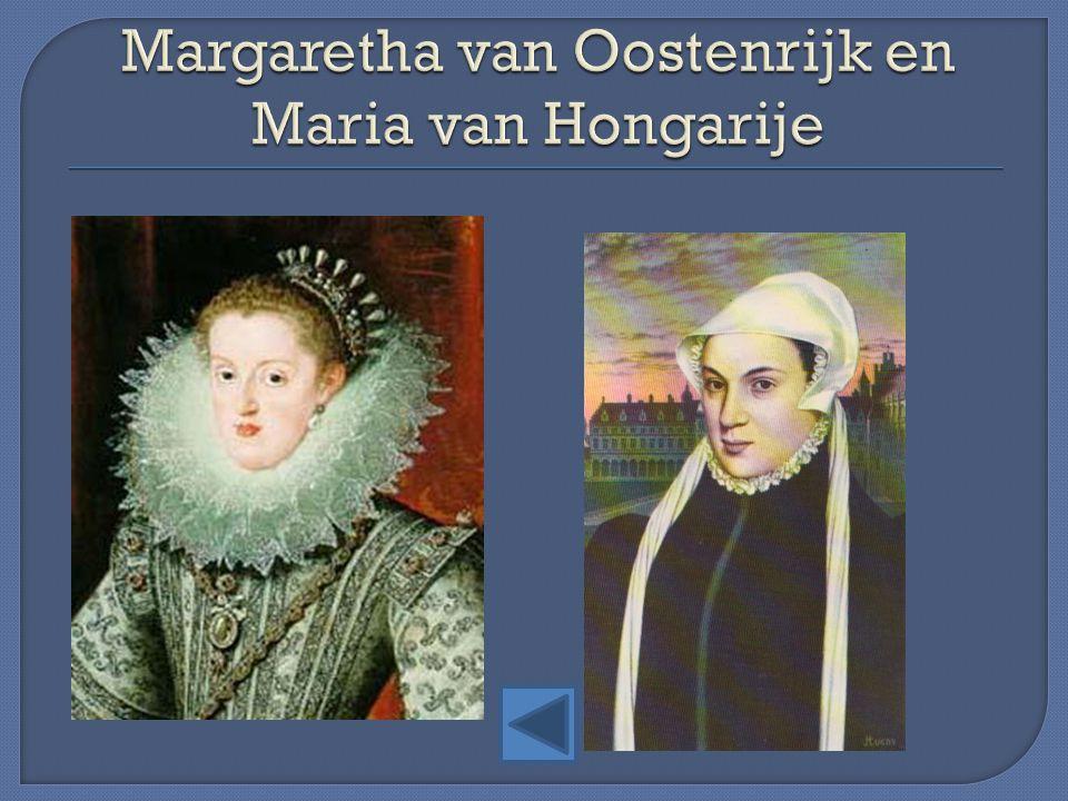 Margaretha van Oostenrijk en Maria van Hongarije
