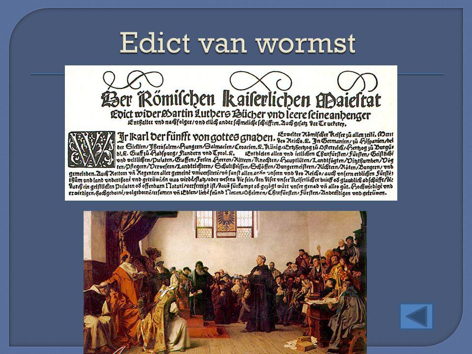Edict van wormst