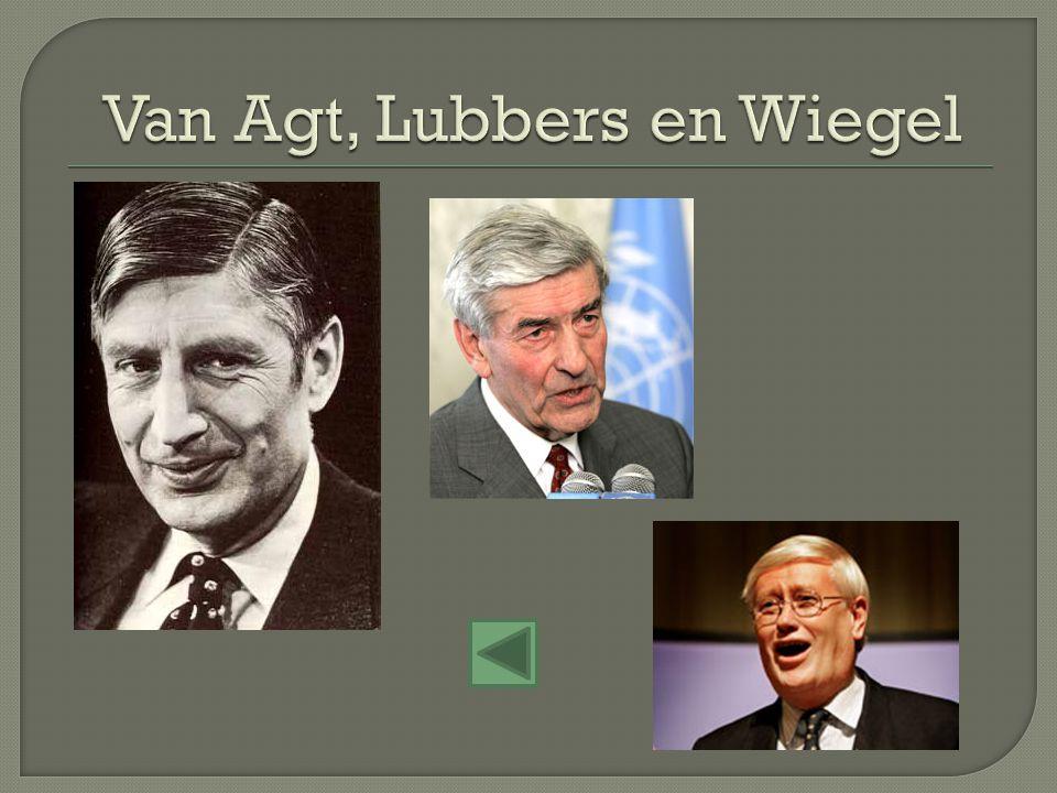 Van Agt, Lubbers en Wiegel