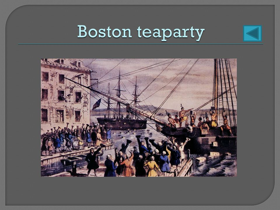 Boston teaparty