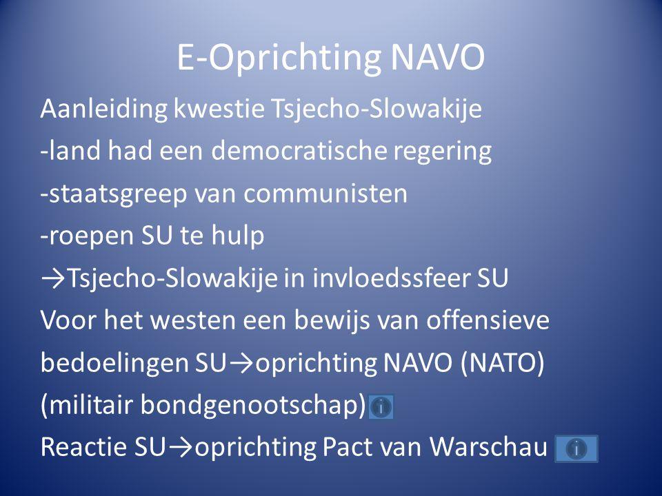 E-Oprichting NAVO