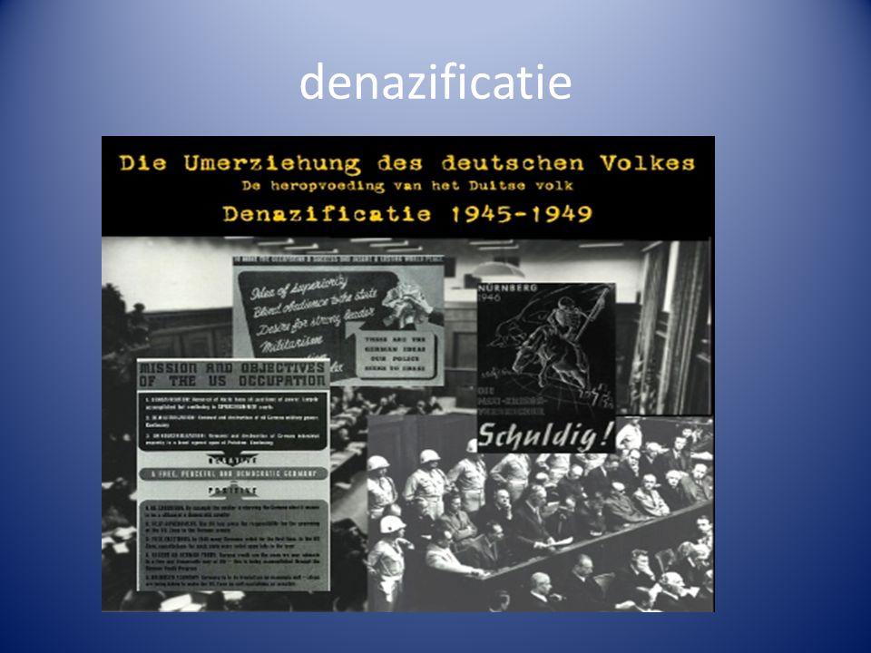 denazificatie