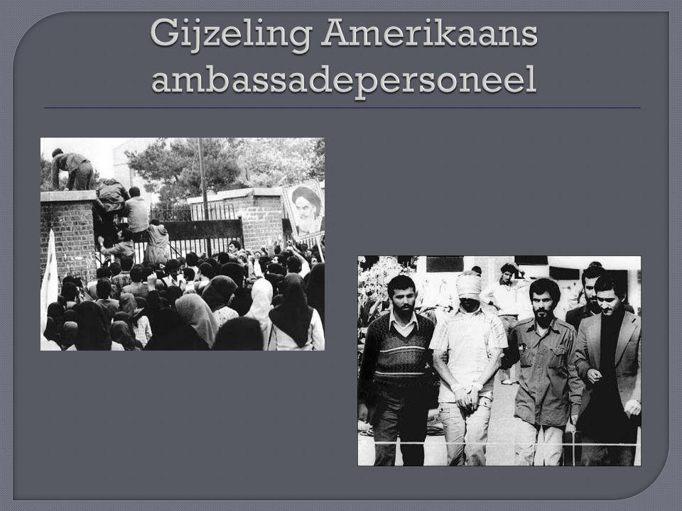 Gijzeling Amerikaans ambassadepersoneel