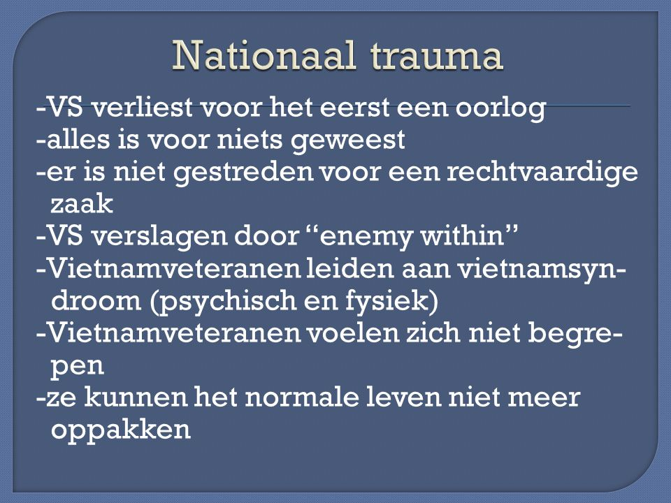 Nationaal trauma