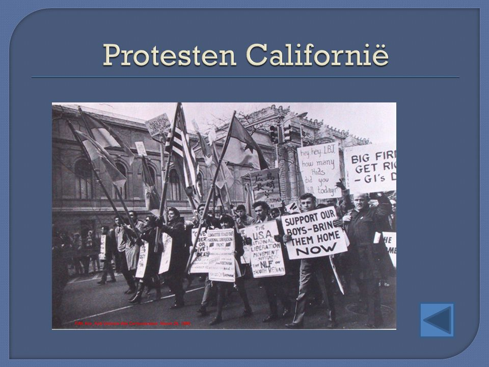 Protesten Californië