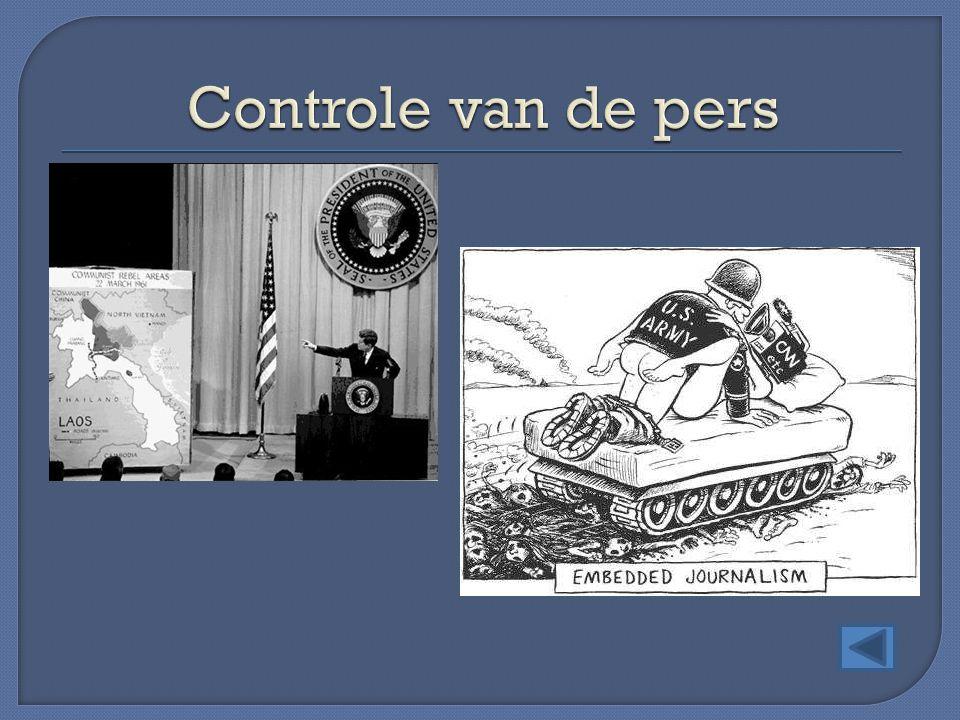 Controle van de pers
