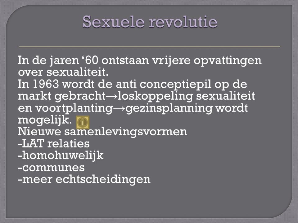 Sexuele revolutie