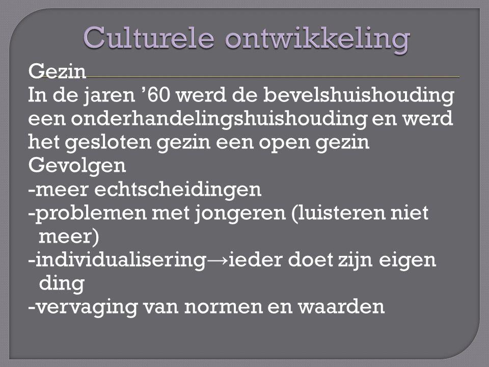 Culturele ontwikkeling
