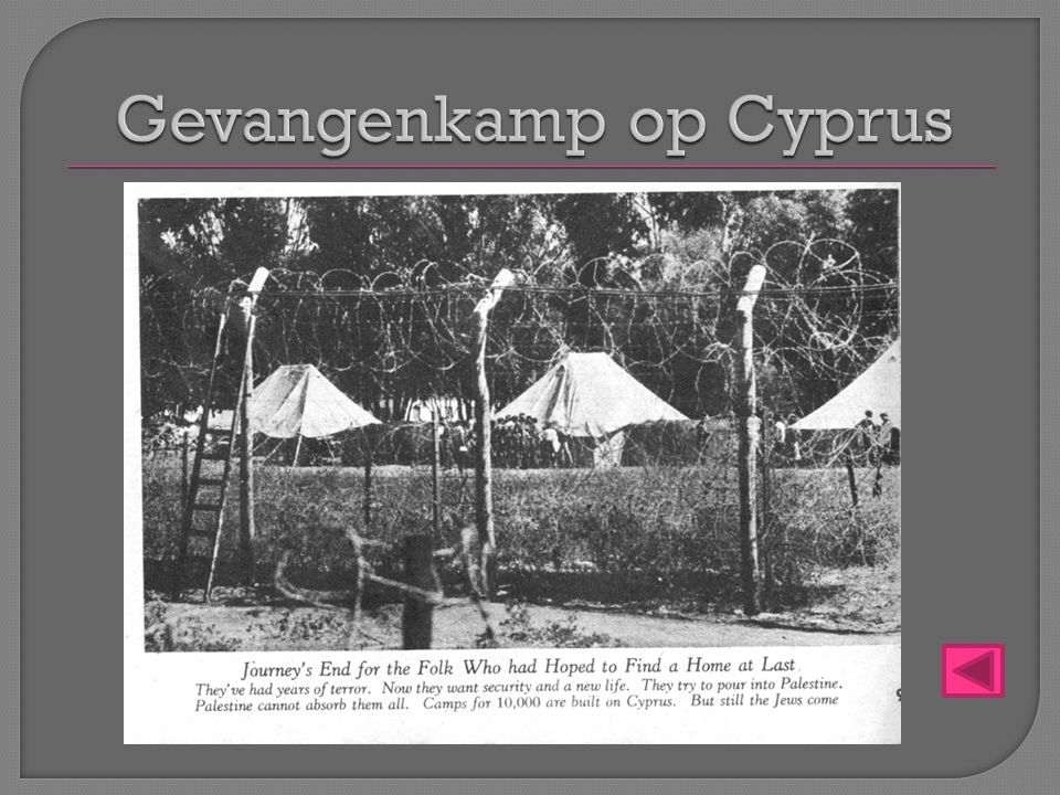 Gevangenkamp op Cyprus