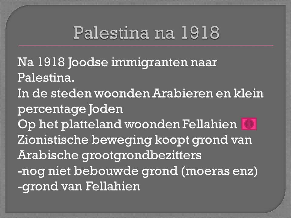 Palestina na 1918