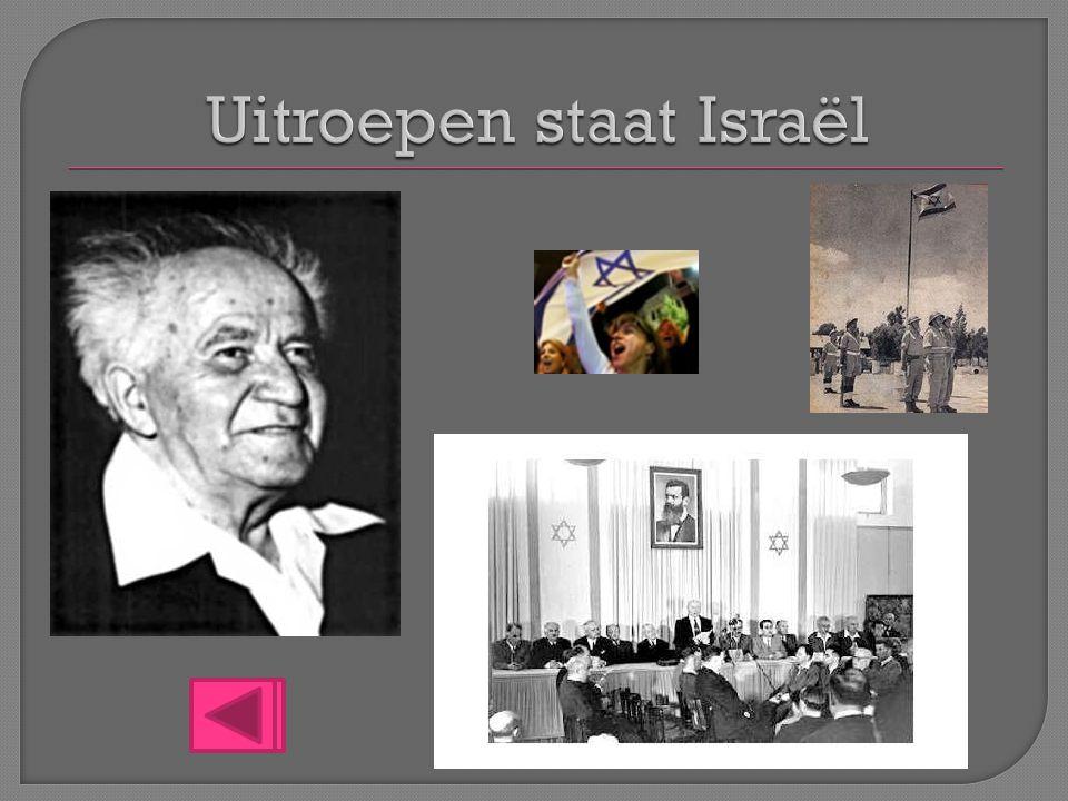 Uitroepen staat Israël