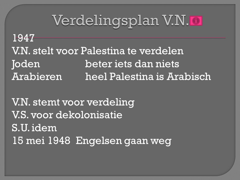 Palestina tot ppt video online download for Nederlands voor arabieren