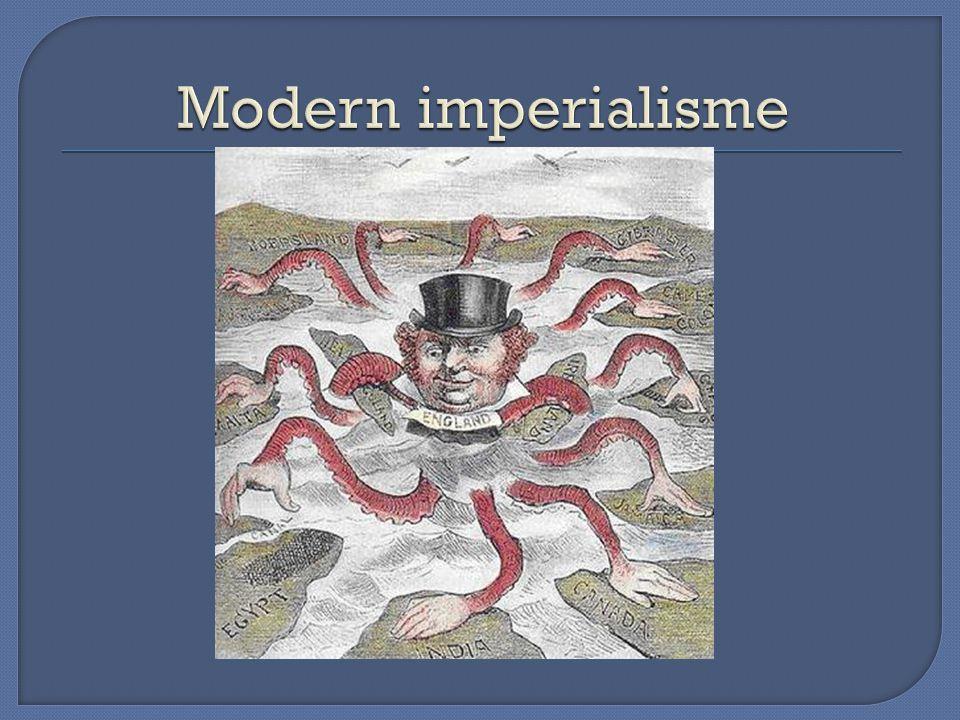 Modern imperialisme