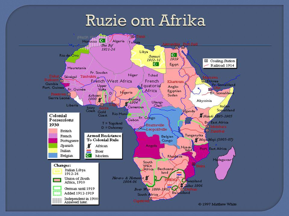 Ruzie om Afrika
