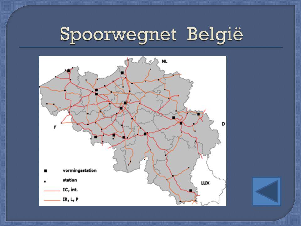 Spoorwegnet België