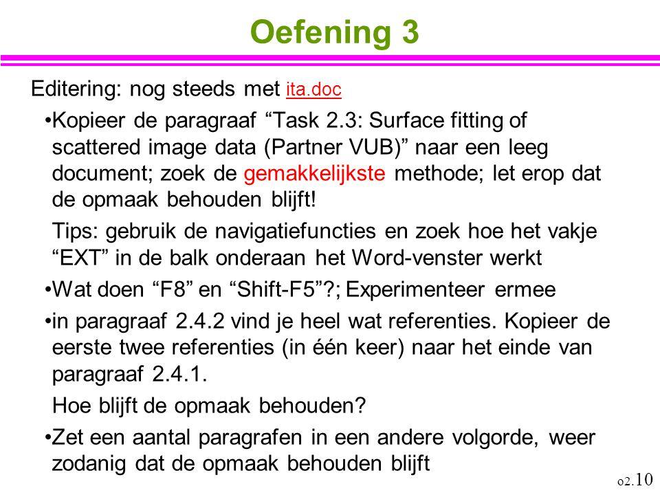 Oefening 3 Editering: nog steeds met ita.doc