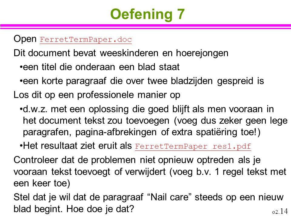 Oefening 7 Open FerretTermPaper.doc