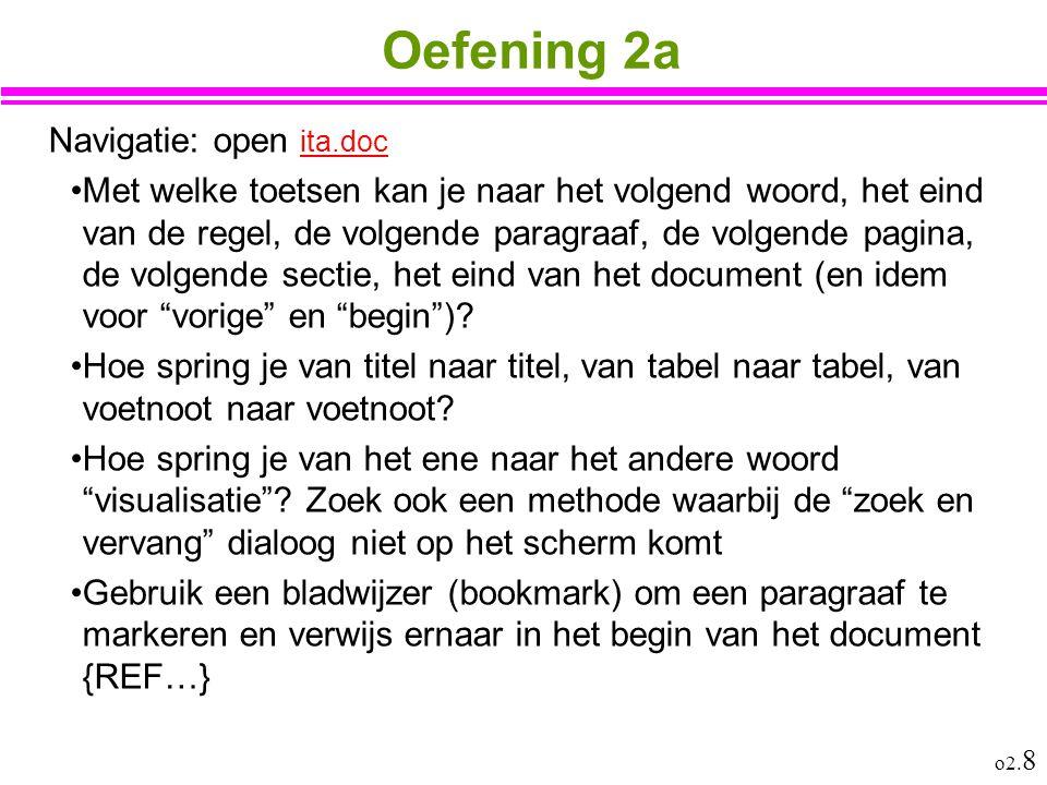 Oefening 2a Navigatie: open ita.doc