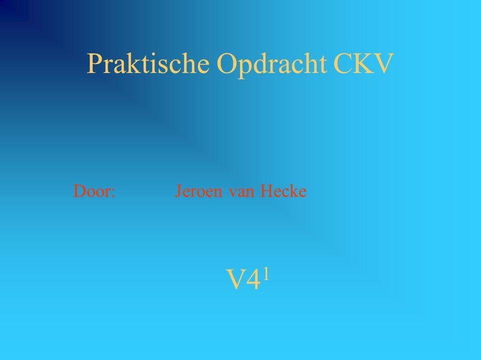 Praktische Opdracht CKV