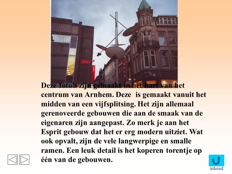 Deze foto's zijn gemaakt in het hart van het centrum van Arnhem