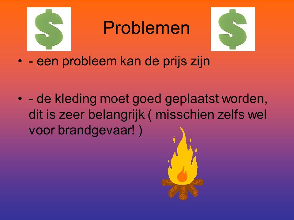 Problemen - een probleem kan de prijs zijn